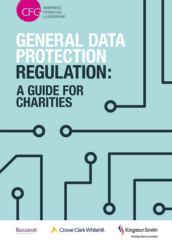 General Data Protection Regulation (GDPR): A guide for charities