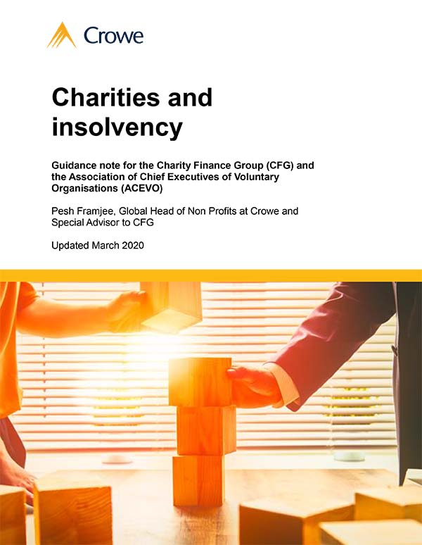 Charities and insolvency